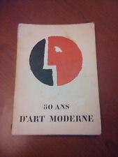 """""""50 Ans D'Art Moderne""""   From a 1957 Belgium Art Expo!"""