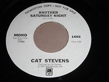 Cat Stevens: Another Saturday Night 45