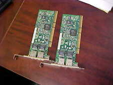 HP 313586-001, 313559-001, NC7170 Dual Port, Pci-X Network Card (Lot of 2)