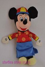 Chinese New Year Mickey Mouse Mini Bean Bag Disney Plush Stuffed Animal Happy
