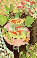 "Matisse ""Still life with goldfish"" 70x50cm  Print  2126"