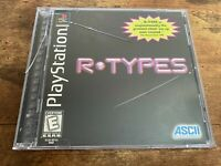 R.TYPES - Sony PS1 PlayStation 1 Black Label CIB Black Label