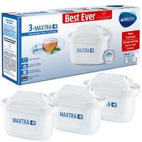 BRITA Genuine Maxtra+ Plus Replacement Water Filter Jug Cartridge Refills x 3