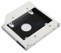 2nd HDD SSD Hard Drive Caddy Adapter for Asus k53e X53S F83VF X53Sm Optical Bay