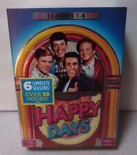 Happy Days TV Series 1-6 Complete Seasons 1 2 3 4 5 6 (22) DVD Set NEW!