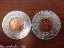 2012 COMMONWEALTH PUERTO RICO Encased Anillado JUNTACOSAS VILLALBA Lucky Penny