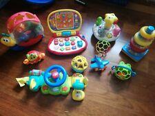 Baby Spielzeug Paket Fisher Price V-tech Chicco Rassel Turm Motorik