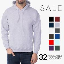 Gildan Heavy Blend Pullover Hoodie Basic Fleece Hooded Sweatshirt 18500 NEW!