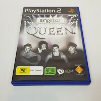 SINGSTAR Queen PS2 Playstation 2 Video Game PAL - Complete