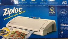 Ziploc Vacuum Sealer System V203. Food Meat sealer Storage NEW IN BOX  FREE SHIP