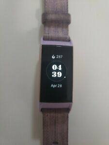 Fitbit Charge 3 Special Edition Fitness Activity Tracker Lavender