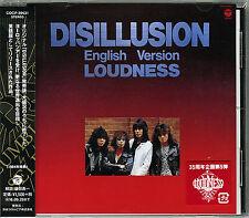 LOUDNESS-DISILLUSION ENGLISH VERSION-JAPAN CD C94
