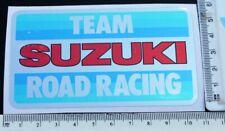 TEAM SUZUKI  road racing sticker    A1