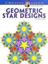 Creative Haven Geometric Star Designs Coloring Book by A G Smith NEW (P/B 2013)