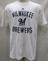Milwaukee Brewers MLB Majestic Men's Short Sleeve T-Shirt