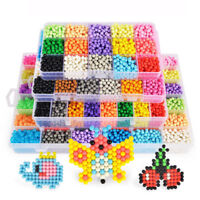 1Set DIY Puzzle Water Magic Aqua Beads Spray Mist Bean Educational Kids Toy Gift
