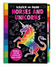 Scratch and Draw Horses and Unicorns by Joshua George: New