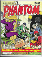 Phantom Nr.126 - TOP Z1 BASTEI KRIMI COMIC-HEFT Lee Falk