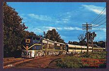 LMH Postcard DELAWARE & HUDSON   Passenger  ALCO PA1 D&H 17  Adirondack 1974
