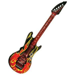 Inflatable Guitar 106 Cm Blow Up Rock And Roll Party