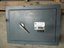 Ge Qmr366 Hardware 600 Amp 600 Volt 3p Painted Qmr Switch Warranty