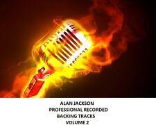 ALAN JACKSON PROFESSIONAL RECORDED BACKING TRACKS  VOLUME 2