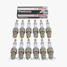 Mercedes-Benz Spark Plugs Plug Set Platinum Bosch OEM 95003/99403 (12pcs)