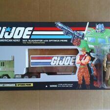Transformers G1 G.I. Joe Optimus Prime with Sgt. Slaughter Custom Box!!!