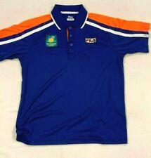 Fila Bnp Paribas Open Tennis Polo Shirt Men's Size Medium Fila Polo Medium