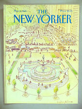 The New Yorker Magazine - May 11, 1981 ~ cover only ~ Mihaesco Central Park