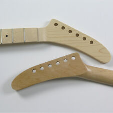 Floyd nut Maple/Maple 22 Fret Banana Guitar Neck NK4