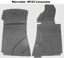 Autoteppich Formteile - Schaumstoff  für Mercedes W123 Limousine 2tlg Neu