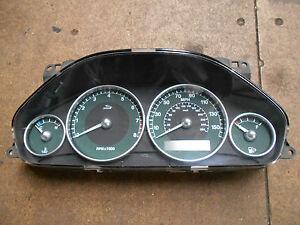 Jaguar X-Type Instrument Pack. Petrol models. 2001-2008.