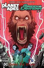 PLANET OF THE APES GREEN LANTERN #4 (2017) 1ST PRINTING MAIN COVER DC/BOOM