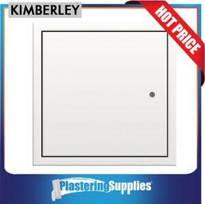 Kimberley Manhole Access Panel 450mm x 450mm Hinged Metal Door KMHM03
