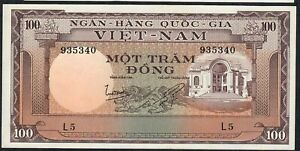 VIETNAM P18 100 DONG  1966  #L.5         UNC.