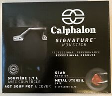 Calphalon Signature Nonstick 4-qt. Soup Pot with Cover (1948283) - New in Box