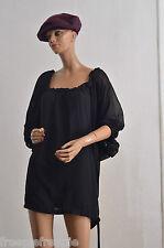 APART haut chemise noir taille 42/44 vetement femme grande taille