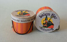 DOLLHOUSE MINIATURE ~ HALLOWEEN WITCH'S HAT BOX by LORRAINE SCUDERI