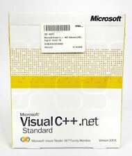 Microsoft Visual C++ .net Standard Visual Studio Version 2003 One User NEW