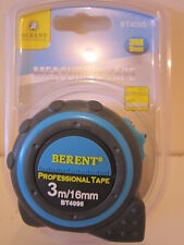 BERENT TAPE MEASURES. WITH CLIP. 3M X 16MM;