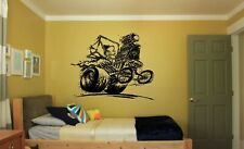 Wall Vinyl Sticker Decals Mural Room Design Monster Car Truck Retro Road bo1660