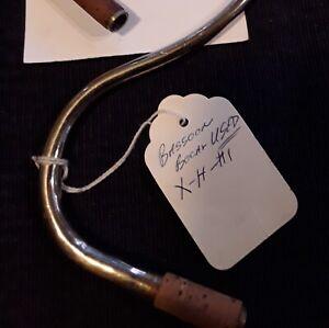 Bassoon Bocal, used vintage