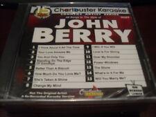 CHARTBUSTER KARAOKE DISC 90261 JOHN BERRY CD+G COUNTRY SEALED 15 TRACKS