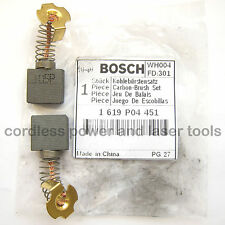 Bosch véritable carbone brosses GTM 12 table scie d'encadreur original part 1 619 P04 451