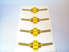 Lionel F3 A-Unit Santa Fe War Bonnet WATER SLIDE Nose Decal 2333 2344 2243 4PCS