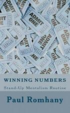 Winning Numbers by Paul Romhany (2011, Paperback)