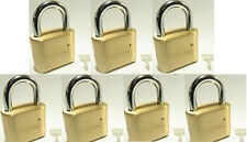 Lock, Brass, Master, Combination #175 (Lot 7) 4 Dial Resettable High Security