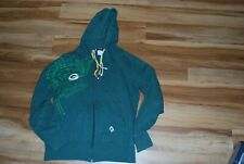 Green Bay Packers Woman's Zip up Hoodie Sweatshirt Large.