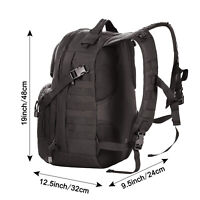 Lightweight Tactical Molly Backpack Assault with Padded Straps Zippered Pockets